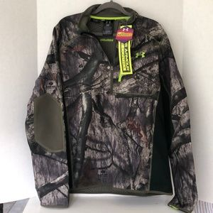 Under armour camouflage camo cold infrared top NWT